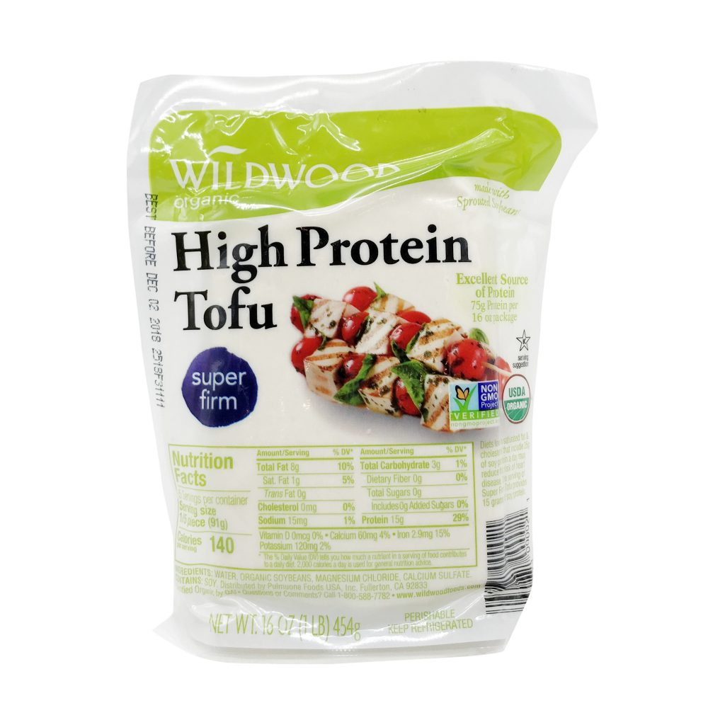 """Vac-u-packed, All-American """"Super Firm High Protein Tofu"""" seriously, you don't even have to press it."""