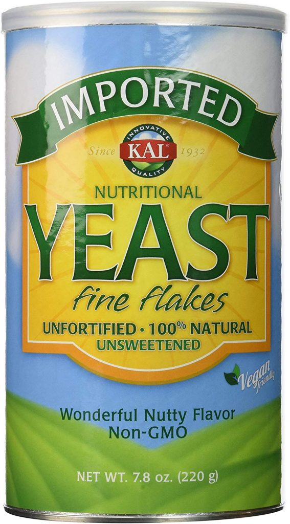 Unfortified Nutritional Yeast Nooch Container