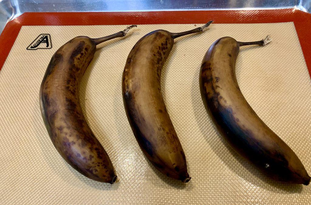 Oven-ripened bananas