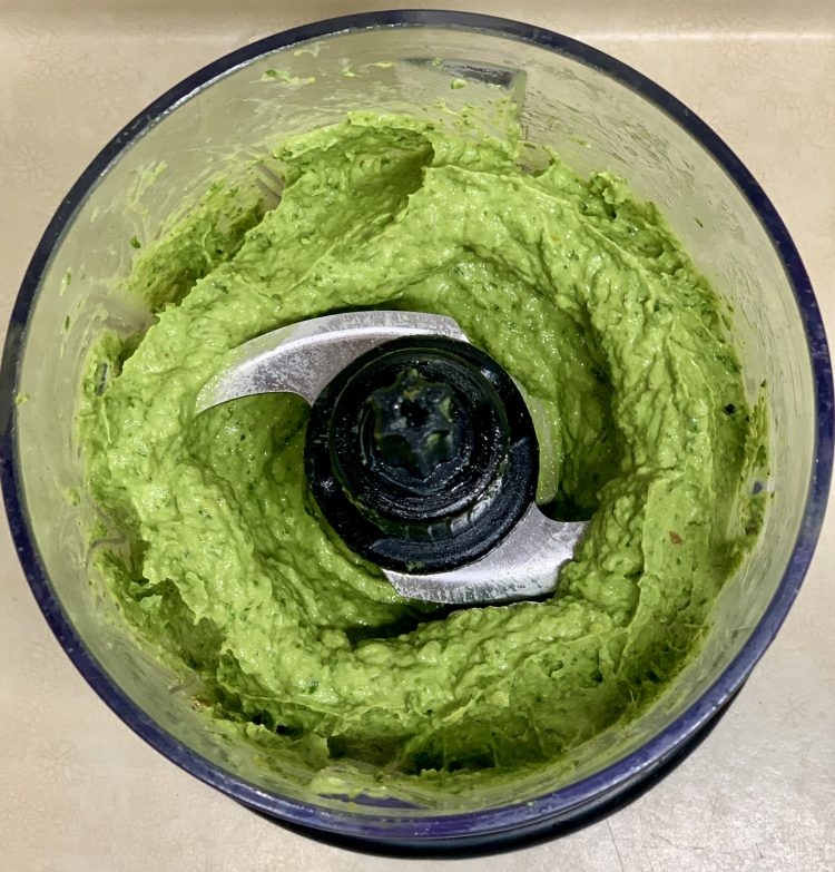 Zesty Avocado Pistachio Pesto