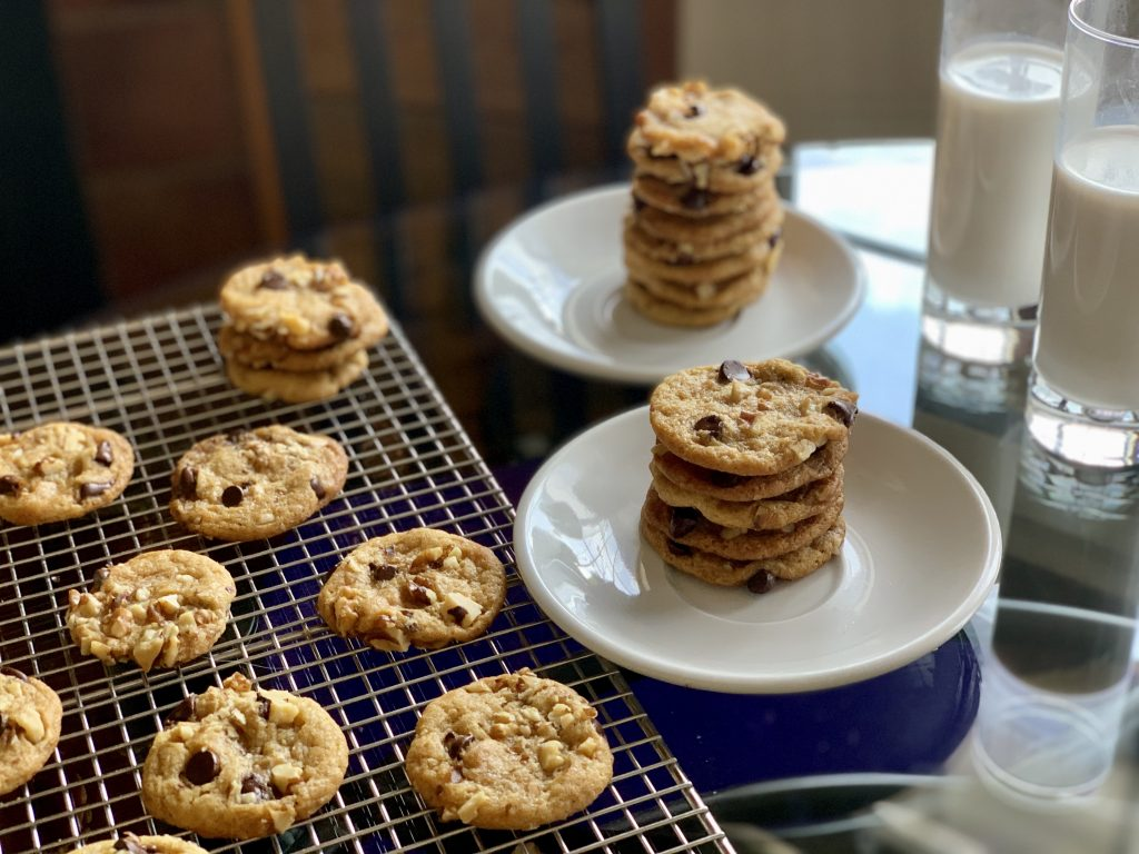 High-Altitude Vegan Nestlé Toll House style Chocolate Chip Cookies with Elmhurst 1925 Additive- Free Cashew Milk click here for coupon codes