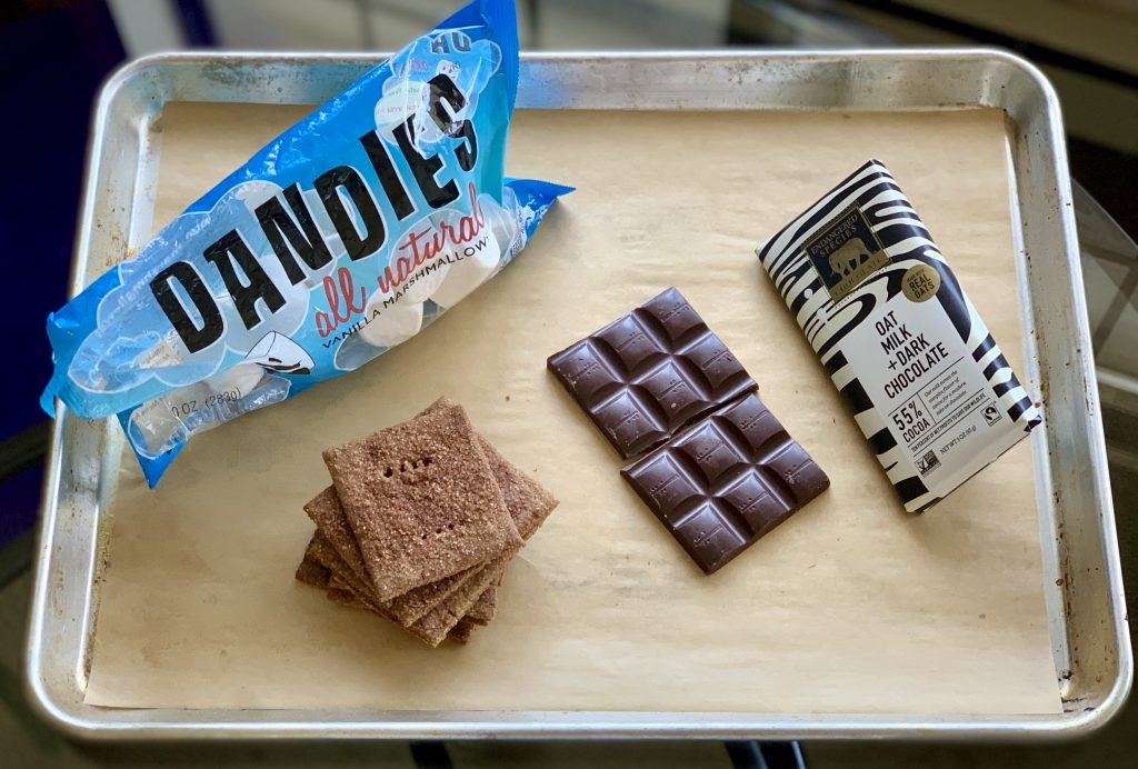 Vegan Ingredients for Easy Oven S'mores