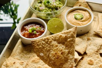 Baked Oil-free Tortilla Chips