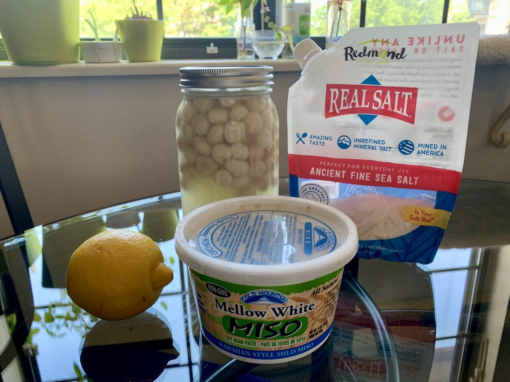 Ingredients for Lux Vegan Macadamia Ricotta