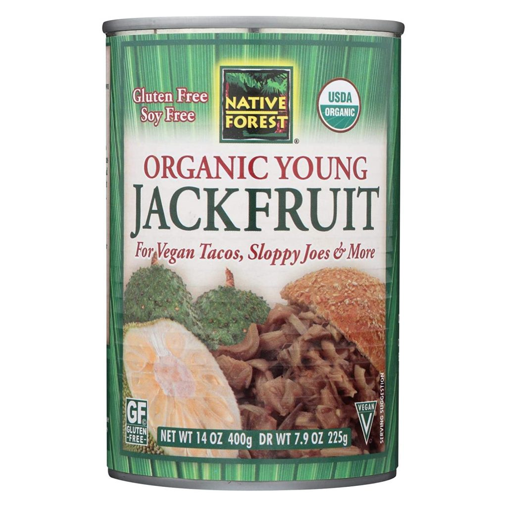 I use two cans of this jackfruit