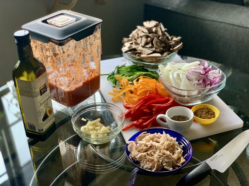 Ingredients for Vegan Jackfruit Barbacoa