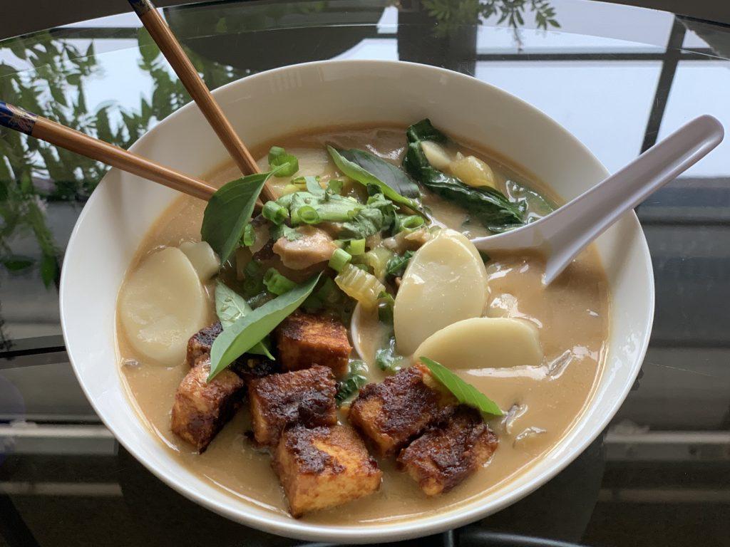 Miso Rice Cake Soup