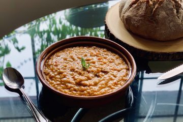Instant Pot Turkish Red lentil Soup