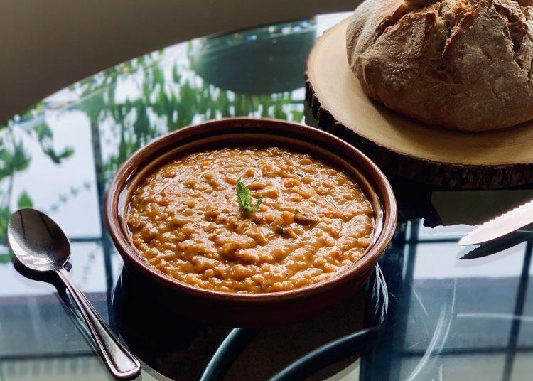 Instant Pot Turkish Red lentil Soup