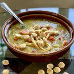 Vegan No-Chicken Noodle Soup