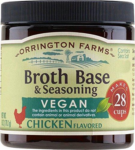 gluten-free, vegan no-chicken broth base