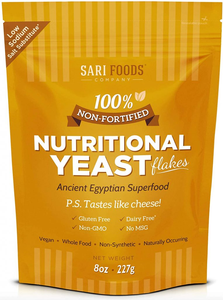 Sari Non-Fortified Nutritional Yeast for Amazing Creamy Vegan Biscuit Gravy