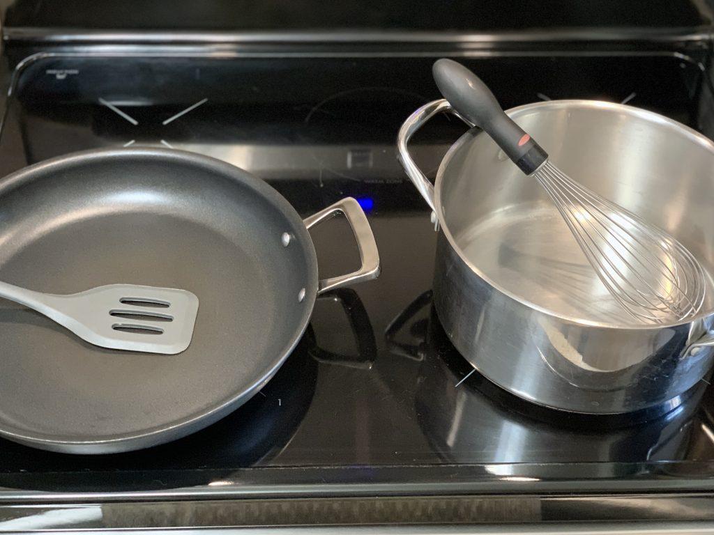Equipment for Amazing Vegan Mushroom Gravy