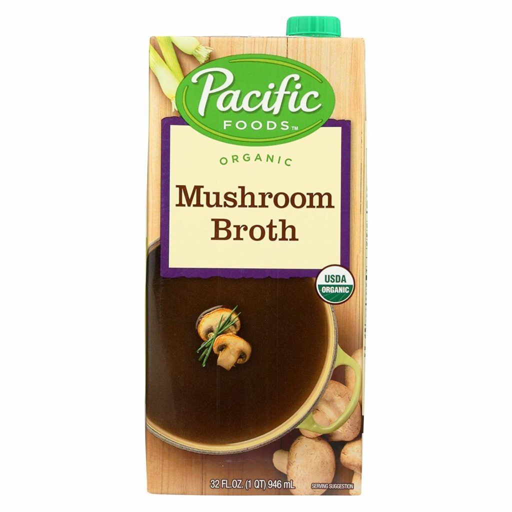Mushroom broth for Amazing Vegan Mushroom Gravy
