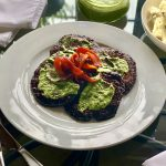 Marinated Portobello Mushrooms & Chimichuri-Gremolata Sauce