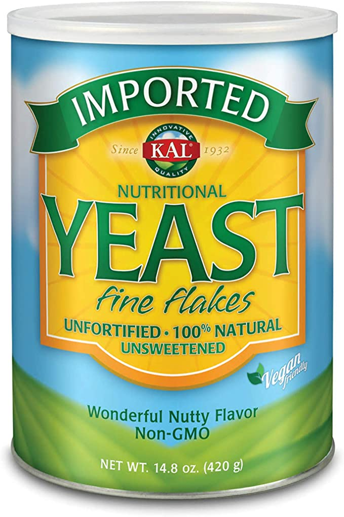 KAL Unfortified Nutritional Yeast for Amazing Creamy Vegan Biscuit Gravy