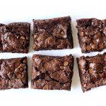 High-altitude vegan small-batch brownies