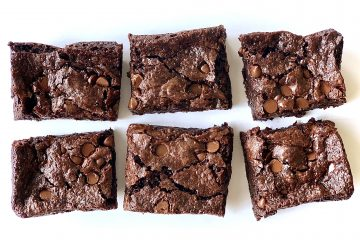 High-altitude vegan small-batch brownies