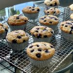 The Best High-Altitude Vegan Blueberry Muffins