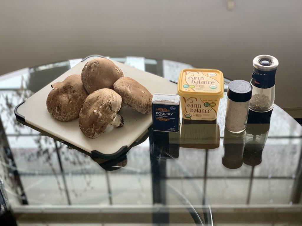 Easy Seasoned Mushroom Mince