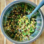Chipotle-style corn salsa