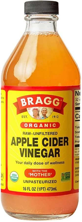 """Apple Cider Vinegar for making Easy Zesty Italian Vinaigrette Dressing Even though it's """"with the mother"""" it's still vegan"""
