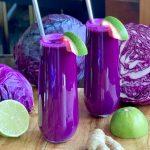 Purple-Ginger Antioxidant Juice
