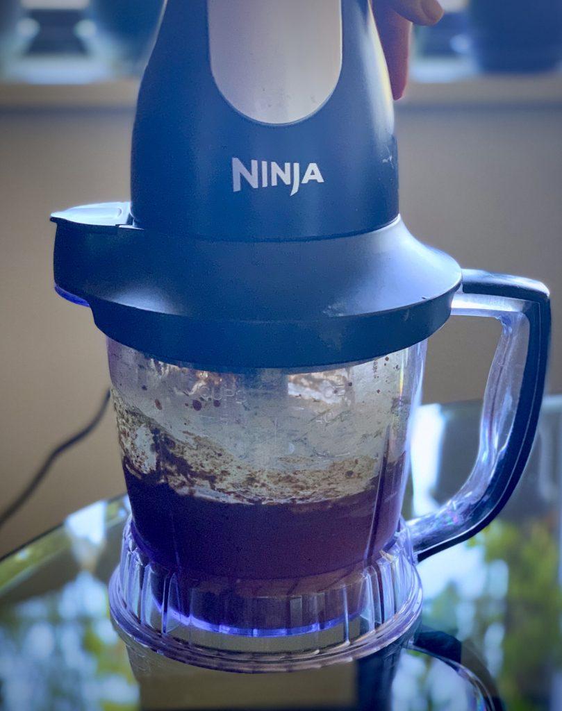 Blending in a Ninja food processor