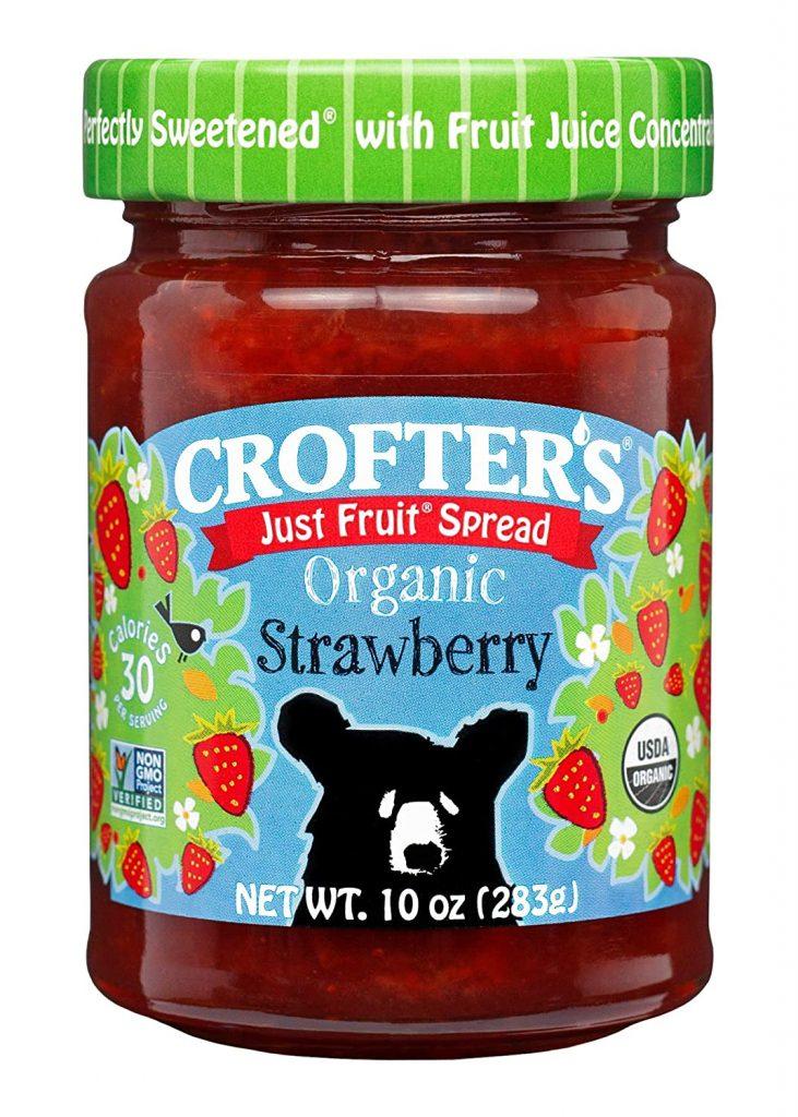 Strawberry jam for Easy 3-ingredient Vegan Yogurt Snack