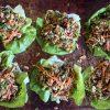 Vegan Mushroom Lettuce Cups