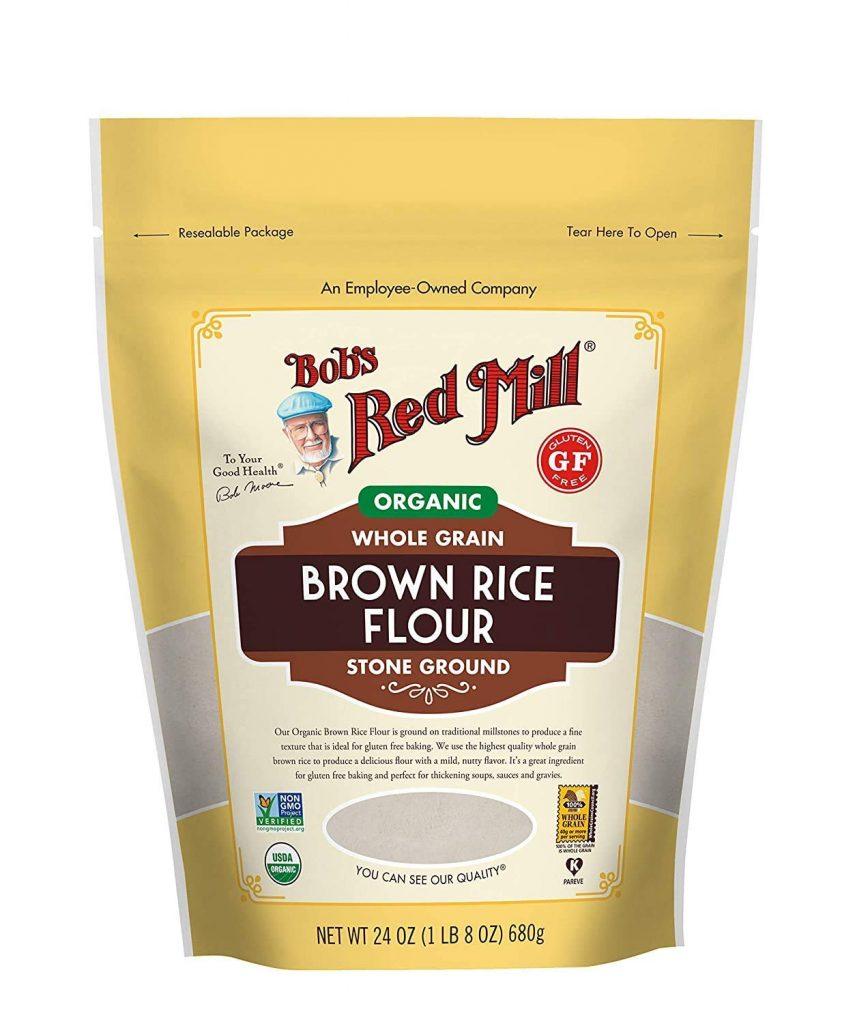 Bob's Red Mill Organic Brown Rice Flour for gluten-free flour blend