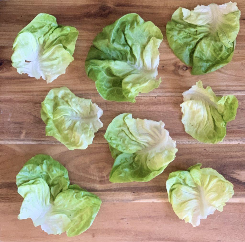 Butter Lettuce for for Vegan Mushroom Lettuce Cups