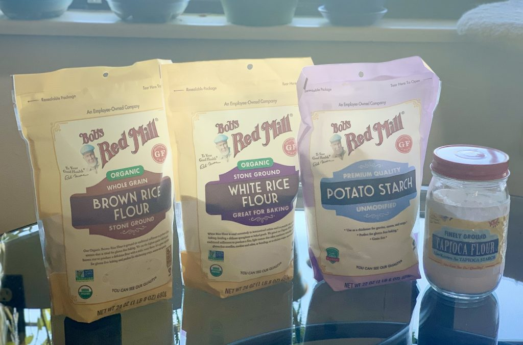 Ingredients for Make Your Own Gluten-Free Flour Blend